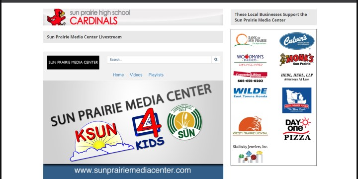 SUN PRAIRIE MEDIA CENTER, CHANNEL 3000 FORM PARTNERSHIP