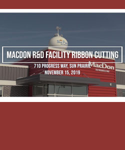 MacDon Ribbon Cutting at Sun Prairie Facility