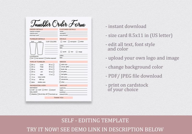 tumbler-order-form