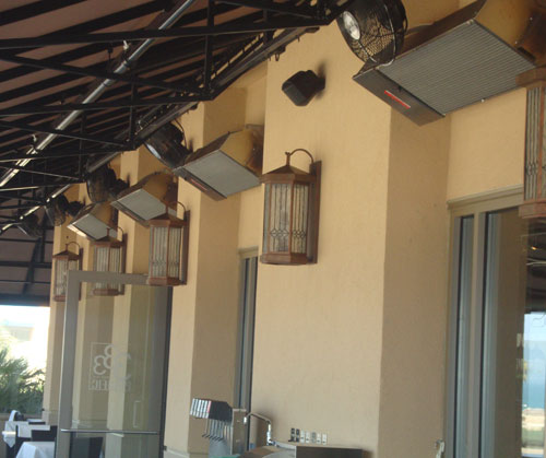 outdoor infrared patio heaters natural