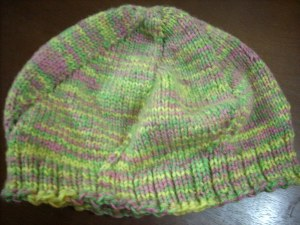 my mixed color hat!