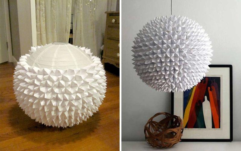 لامپ کاغذی - گزینه ها و ایده ها