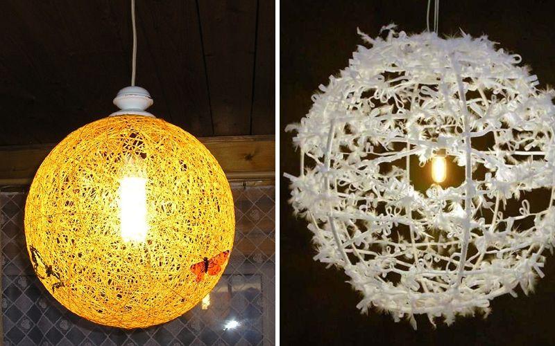 bricolaje lámpara araña Pantalla madera para la de de de tQsrxdCh