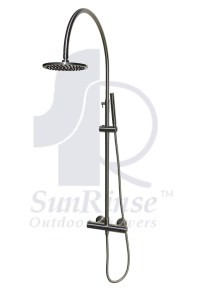 SR402 Thermostatic Valve Outdoor Shower  SunRinse Outdoor