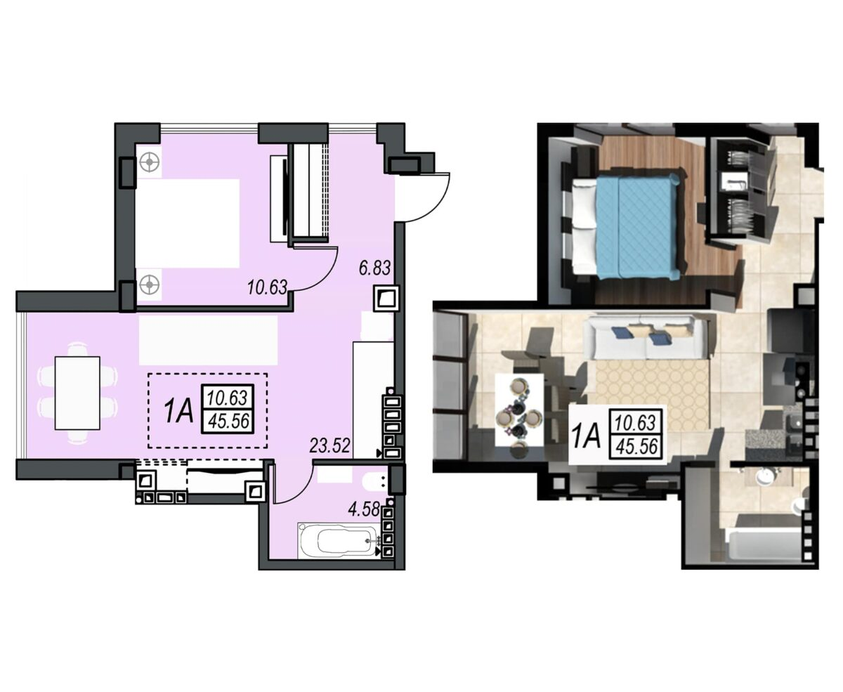 Планировка квартиры: 151