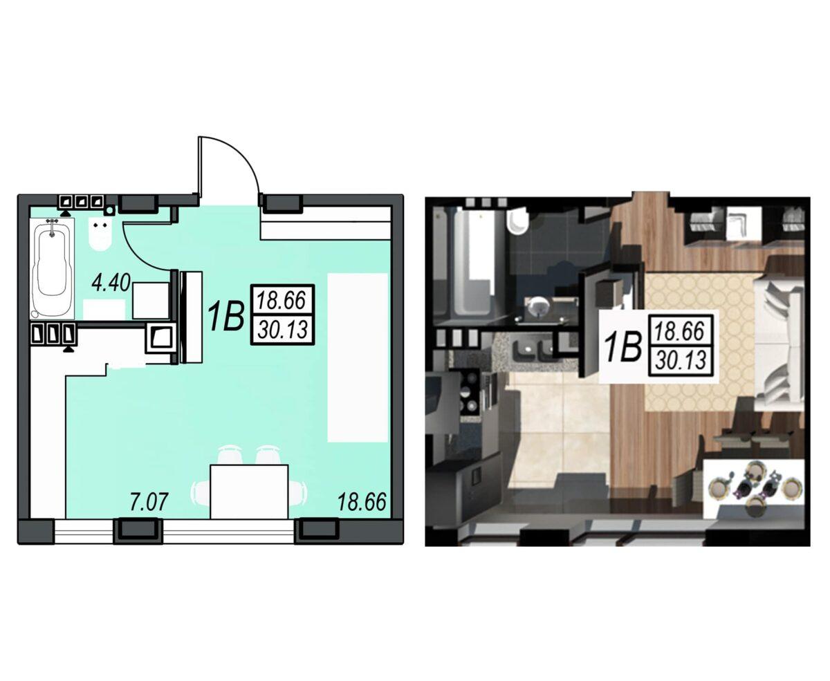 Планировка квартиры: 149