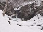 夫婦滝の氷瀑