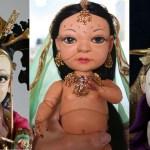 Random image: doll triple - Heidi Taillefer