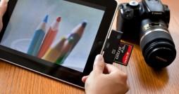 iPad CF and SD Reader