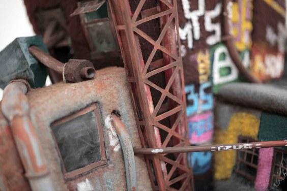 Factory Face (Detail) - Ian Langohr