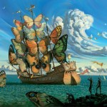 Random image: Departure of the Winged Ship - Vladimir Kush