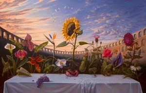 Last Supper - Vladimir Kush