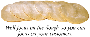 Wholesale Pizza Dough