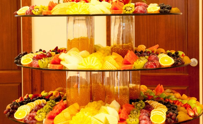 Food Decoration Sunrise Banquet Hall Event Center