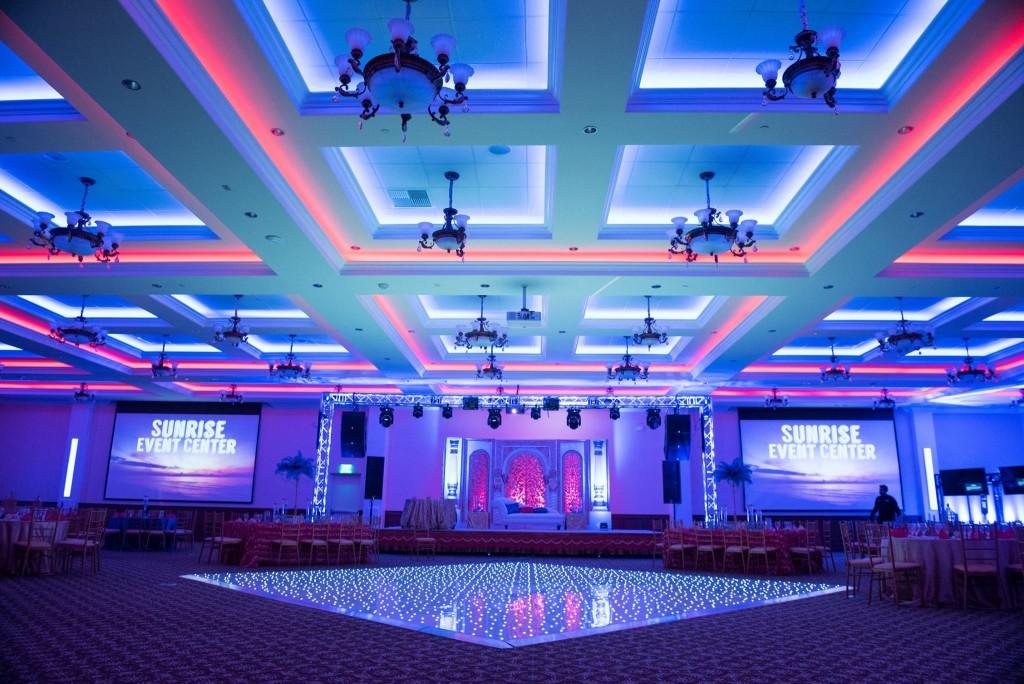Hall Lighting  Sunrise Banquet Hall  Event Center