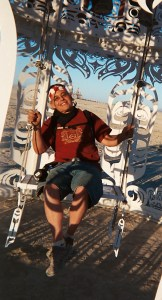 Letting go at Burning Man: a real change of pace for me
