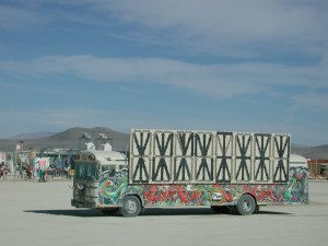 Hopping a ride on an art car is an experience not to be missed.