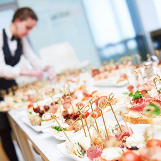 Wedding food Mykonos