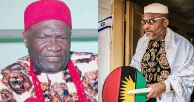 Nnamdi Kanu exposes how Ohanaeze Ndigbo, British Govt work against Biafra