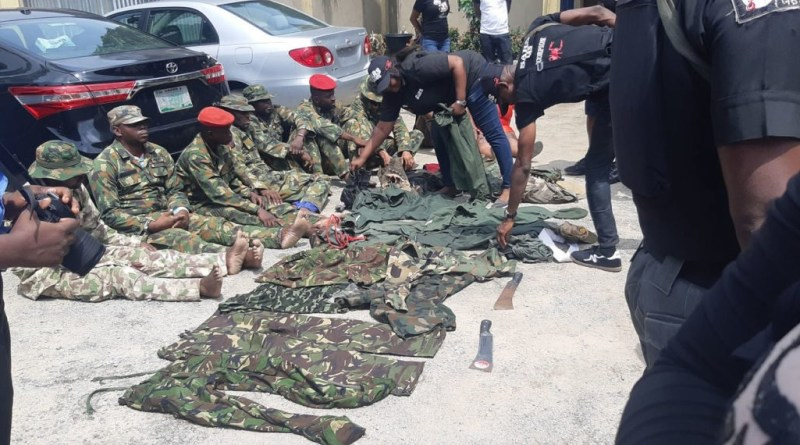 Schock As Dismissed Soldiers Arrested For Robbery