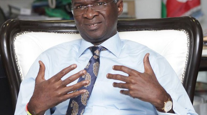 Fashola alerts public to fake Facebook account in his name