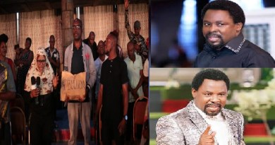 TB Joshua Gives N12m To South Africa Returnees