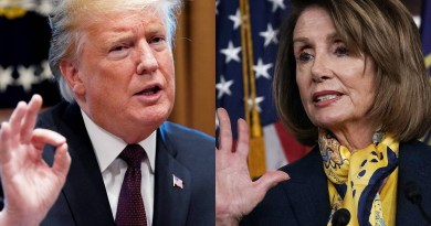 Trump sends thank you message to Speaker Pelosi over impeachment