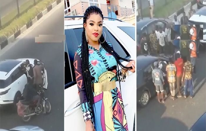 Image result for Man who fought, beat up Bobrisky in Lagos traffic apologises