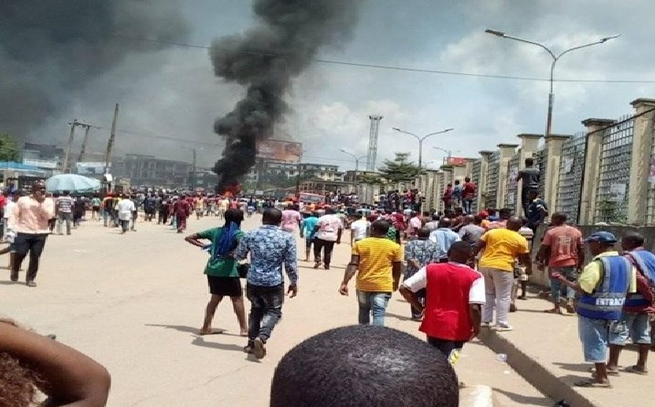 Emotions as Gov. Obiano speaks on Onitsha tanker fire (VIDEO)