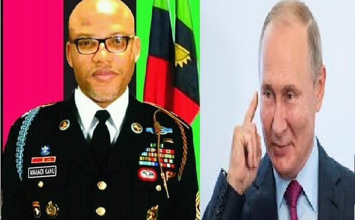 Breaking: Russia govt, Nnamdi Kanu sign deal to restore Biafra
