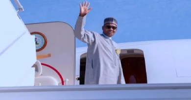 President Buhari jets out with Okezie Ikpeazu, others to London on Friday