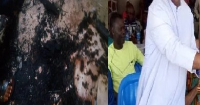 Fire burns Catholic Priest to death in his sleep in Anambra State (Photos)