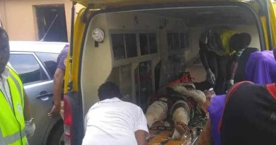 [Warning Graphic Images]: Gas explosion kills 2, injures 23, shops razed in Lagos