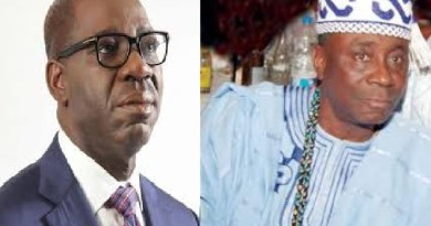 JUST IN: Thugs attack Obaseki, Oba of Lagos at Oshiomhole's residence