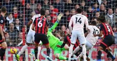 EPL: Watch Bournemouth vs Manchester United Live Streaming
