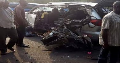 Breaking: 2 dead, 8 injured in fatal road accident