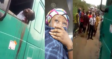 Graphic Video: Shock as Policeman shoots Driver, Passenger to death over N100