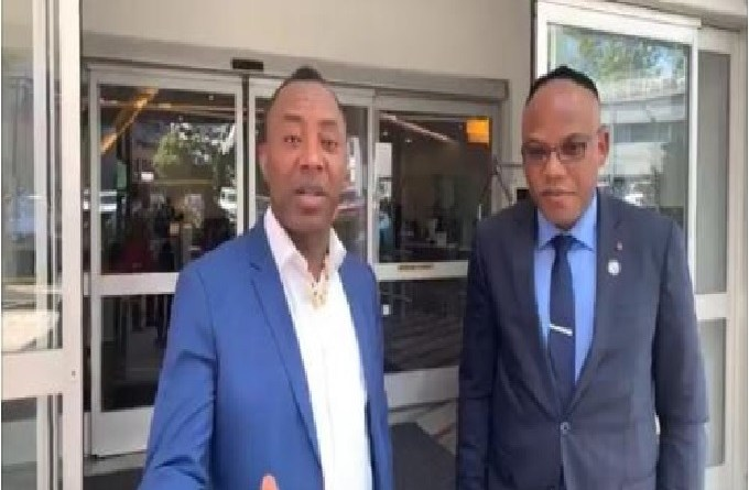 Sowore warns FG against harassing IPOB's family during Nnamdi Kanu parents' burial