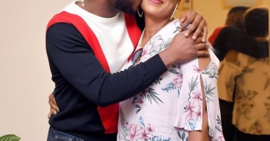 BBBNaija star, Frodd celebrates his mum on her 50th birthday (Photos)