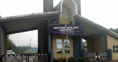 Sex for mark: OAU punishes accused lecturer