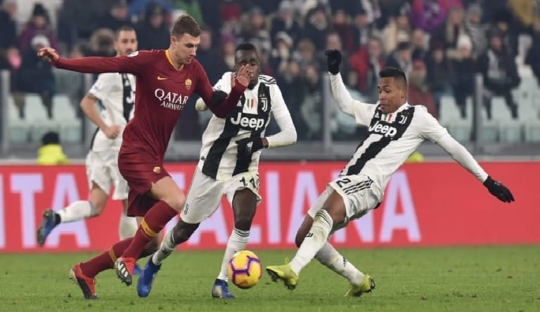Serie A: Watch AS Roma vs Juventus Live Streaming