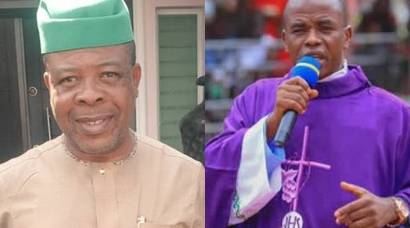 Ihedioha speaks on Rev. Father Mbaka's apology to him