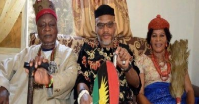 Biafra is a divine project, sacrificing my father and mother will not be in vain -Nnamdi Kanu