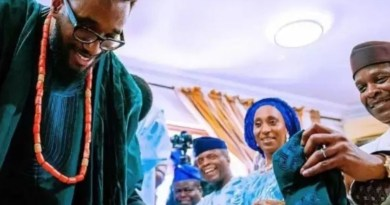Photos from Vice president Osinbajo's son traditional wedding