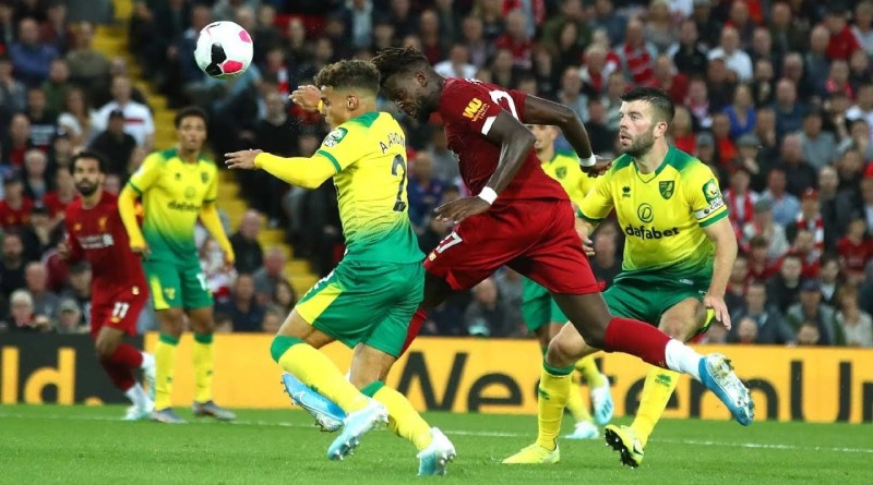 EPL: Watch Norwich vs Liverpool Live Streaming