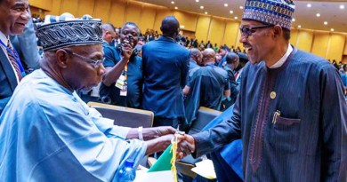 As Obasanjo and Buhari jam at African Union Summit (Photos)
