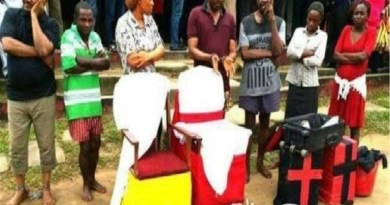 Popular Pastor arrested with 5 human heads, female private part in Oyo