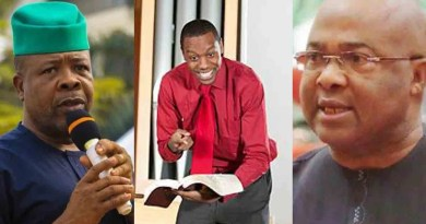 Popular prophet reveals what will happen to both Ihedioha and Uzodinma