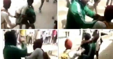 Watch video of secondary school students beating teacher in Katsina