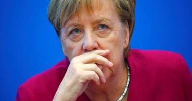 Just In: German Chancellor Merkel in isolation, after doctor is positive for coronavirus